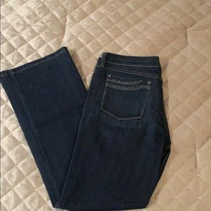Woman's denim jeans
